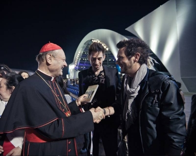 The Cardinal meets some Rockers
