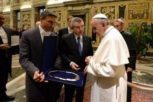 Address of Pope Francis to members of the European Olympic Committee