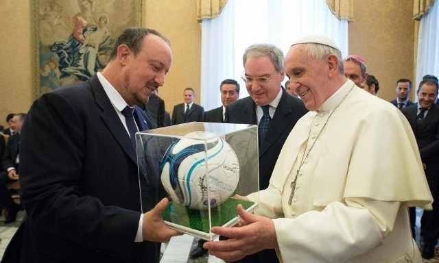Address of Pope Francis to the delegates of the Florence and Naples soccer teams, Soccer Federation and Serie A League
